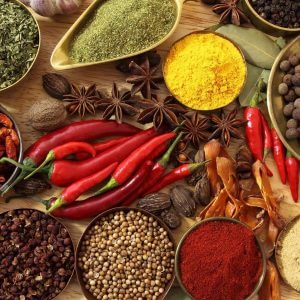 list of spices and their uses