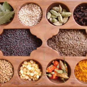 list of common spices