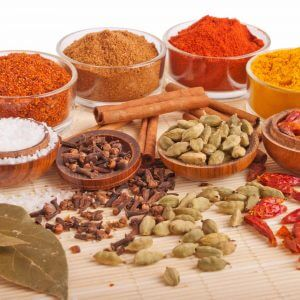 list of spices with pictures